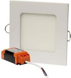 DPM Oprawa wstropowa panel LED 6W 360lm 3000K kwadratowa IP20 biały PL3-S-6W