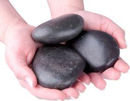 inSPORTline Kamienie wulkaniczne do masażu inSPORTline River Stone 8-10 cm - 3 szt.