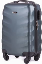 Solier Podręczna walizka kabinowa abs Ciemno-zielona (82022-uniw)