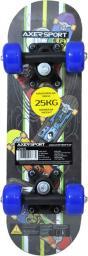 Deskorolka Axer Sport dla dzieci 17' 43X13 cm niebieska (A26632)