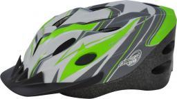 Axer Bike Kask rowerowy szaro-zielony r. M (A0172-M)