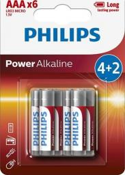 Philips Bateria PowerLife AAA / R03 6szt.