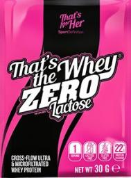Sport Definition That's The Whey ZERO Carmelc30g