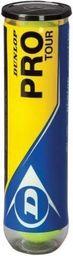 Dunlop Piłka tenisowa Pro Tour 4 żółty