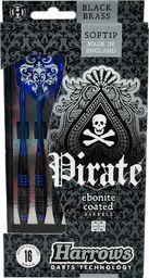 Harrows Rzutki Softip Pirate niebieskie 18g (H0032-18)