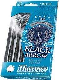 Harrows Rzutki Steeltip Black Arrows czarne 23g