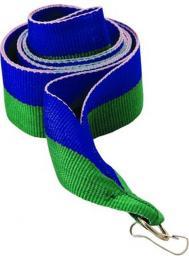 Victoria Sport Wstążka 11 mm - niebiesko-zielona