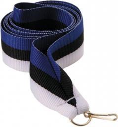 Victoria Sport Wstążka 11 mm - niebiesko-czarno-biała