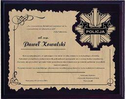 Victoria Sport Dyplom z tworzywa sztucznego z laminatem grawerowany