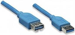 Kabel USB Techly Techly USB3.0 Verlängerungskabel Stecker/Buchse TypA 2m blau