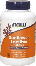 NOW Foods Sunflower Lecithin 1200mg 100 kapsułek