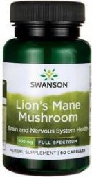 Swanson FS Lion's Mane (soplówka jeżowata) 60 kapsułek