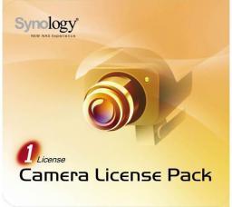 Licencja do kamer sieciowych Synology Dodatkowa licencja na 1 kamerę (LICENSEPACKFOR1)