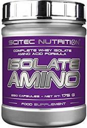 Scitec Nutrition Isolate Amino - 250 kapsułek