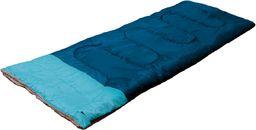 Victoria Sport Śpiwór Kołdrowy zielono-niebieski