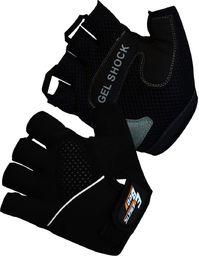 Victoria Sport rękawice treningowe żelowe EB Fit czarno-szare r. L