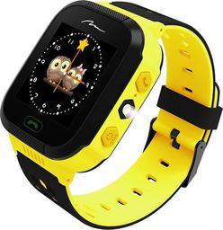 Smartwatch Media-Tech Kids Locator GPS 2.0 Czarno-żółty  (MT858)