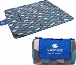 Sapphire Koc piknikowy/plażowy 200x200cm z folią aluminiową
