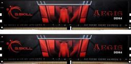 Pamięć G.Skill Aegis, DDR4, 16 GB, 2666MHz, CL19 (F4-2666C19D-16GIS)