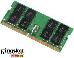 Pamięć do laptopa Kingston ValueRAM SO-DIMM DDR4 ,  16GB,  2666MHz, CL19  (KVR26S19D8/16)