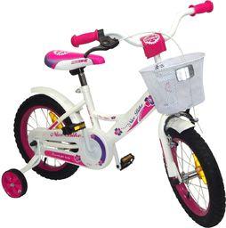 Victoria Sport Rower dziecięcy Letty 14'' biało-różowy