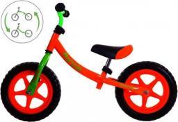 Victoria Sport Rowerek biegowy metalowy 2w1 Marysia 12'' pomarańczowy
