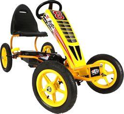 Victoria Sport Gokart 13 żółto-czarny