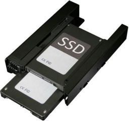 """Icy Dock 2 x 2,5"""" HDD SATA & ATA / SSD """"EZ-Fit"""" dopasowany do wnęki dysku 3,5"""" (ICY DOCK MB082SP)"""