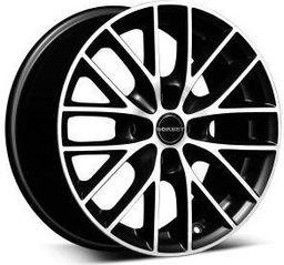 Borbet BS4 Black Polished 7x16 4x100 ET35