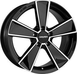 Carmani CA10 Black Polish 6.5x16 5x115 ET41