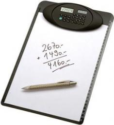 Genie Podkładka pod dokumenty A4 z kalkulatorem (10215)
