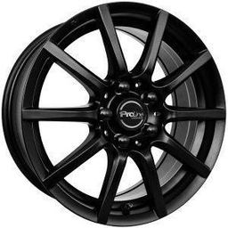 Proline CX100 Matt Black 7x16 5x114.3 ET40