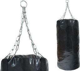Victoria Sport Worek bokserski Ringstar z łańcuchem czarny 60x33cm