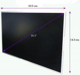 Qoltec LED 10,1 cala 1024*600 GLOSSY - 40 Pin 7126.LED_10.1_G