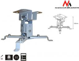 Uchwyt do projektorów Maclean Sufitowy 12cm 20kg MC-582