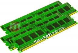 Pamięć Kingston ValueRAM, DDR3, 32 GB, 1333MHz, CL9 (KVR1333D3N9K4/32G)