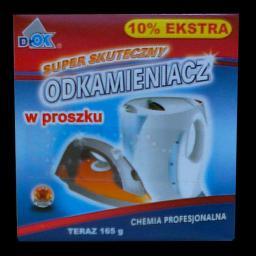 Dr OK Preparat w proszku do odkamieniania pralek i zmywarek, ekspresów 165 g