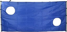 Victoria Sport Tarcza kurtyna do bramki niebieska r. 244x122x106cm