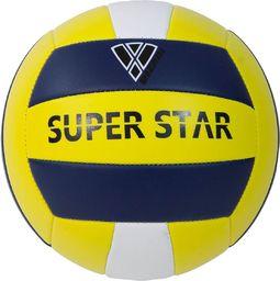 Vizari Piłka Siatkowa Super Star żółto-granatowa r. 5