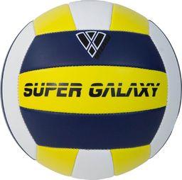 Vizari Piłka Siatkowa Super Galaxy żółto-granatowa r. 5
