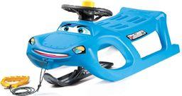 Victoria Sport Nartosanki z kierownicą niebieskie