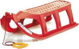 Victoria Sport Sanki plastikowe czerwone
