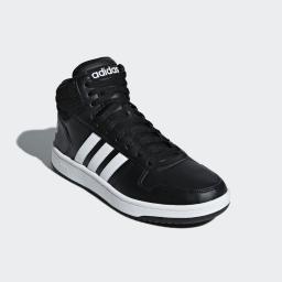Adidas Buty męskie Hoops 2.0 Mid białe r. 46 (BB7208) w