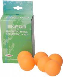 Victoria Sport Piłeczki do tenisa stołowego 6 sztuk pomarańczowe