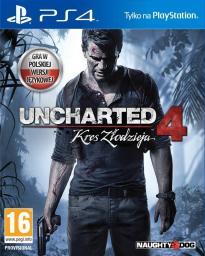 Uncharted 4: Kres Złodzieja PS4