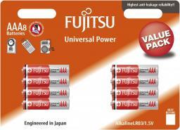 Fujitsu Baterie Alkaliczne LR03 AAA 8 szt. blister LR03(8B) FU
