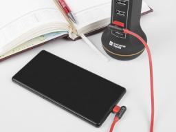 Kabel USB Natec Extreme Media microUSB - USB 2.0 (M), 1m, kątowy, czerwony