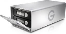 Dysk zewnętrzny G-Technology HDD G-RAID Thunderbolt 3 8 TB Srebrny (0G05749)