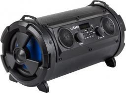 Głośnik UGO Bezprzewodowy Bazooka karaoke czarny z mikrofonem (UBS-1174)