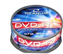 Esperanza DVD-R TITANUM 4,7 GB x16 CAKE BOX 25 - 1280